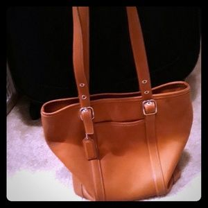 Authentic leather Coach Purse-Fully Adjustable